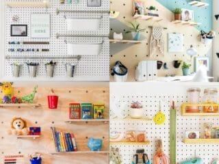 20 Genius Pegboard Organizing Ideas