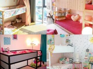 20 IKEA Kura Hacks for Children Room
