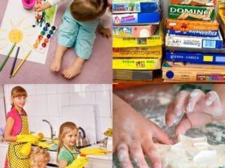 20 Indoor Activities for Kids at Home
