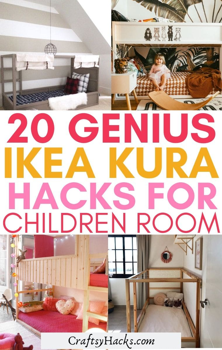 genius ikea kura hacks