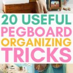 pegboard organizing tricks