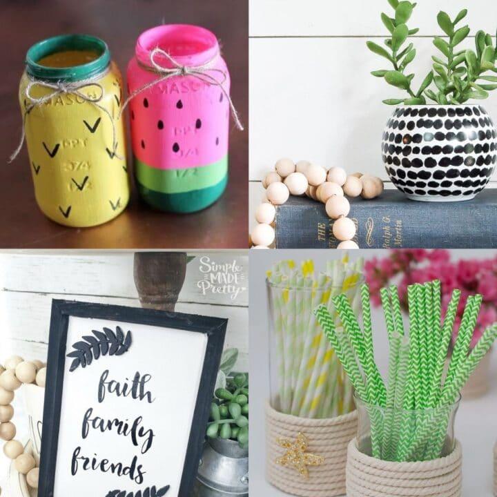 21 Creative Dollar Tree Crafts
