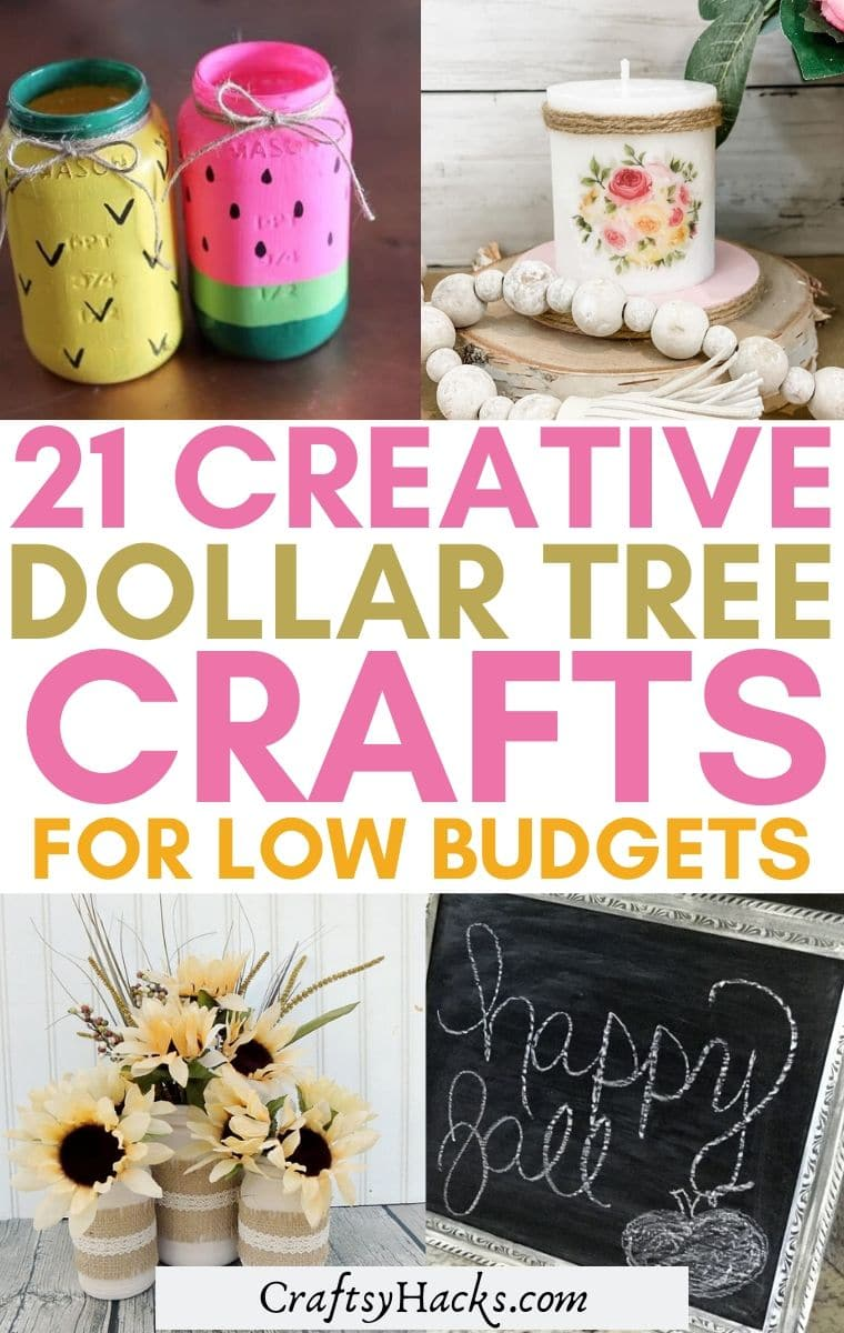 dollar tree crafts diy