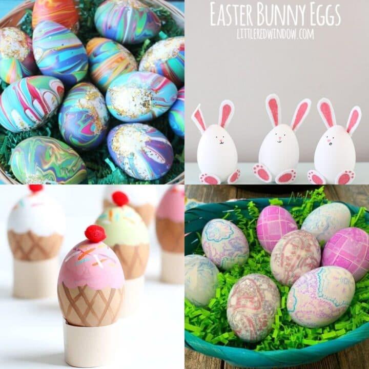 25 DIY Easter Egg Ideas