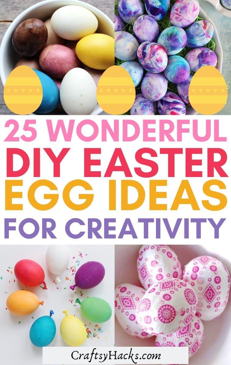 diy easter egg ideas
