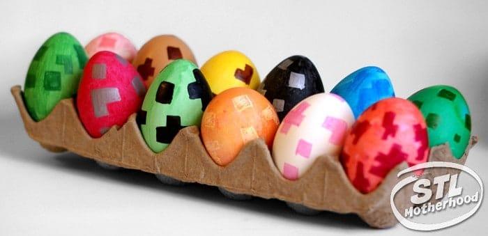 Minecraft-inspired Eggs