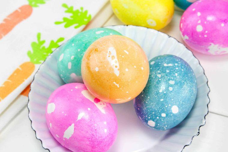 Oil-based Easter Eggs