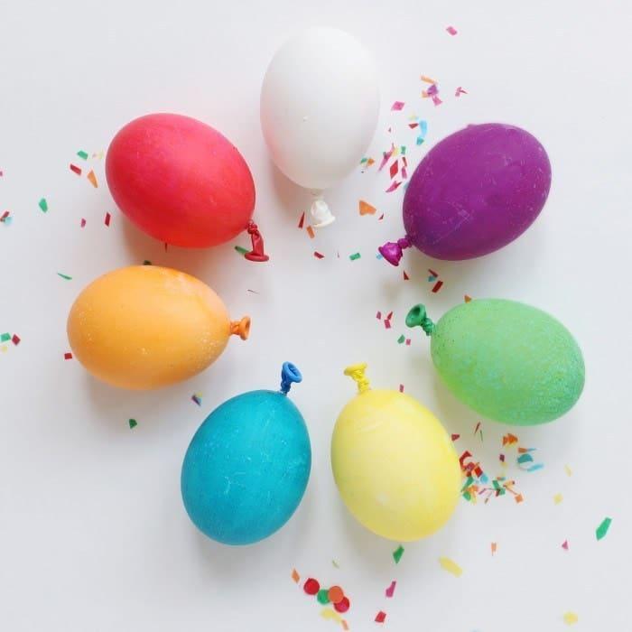 Balloon Easter Eggs DIY
