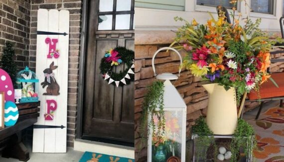 easter porch decor ideas