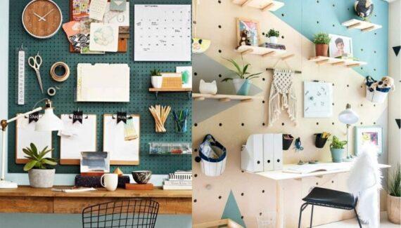 pegboard organizing ideas