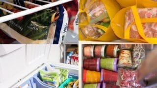 10 Freezer Storage Hacks