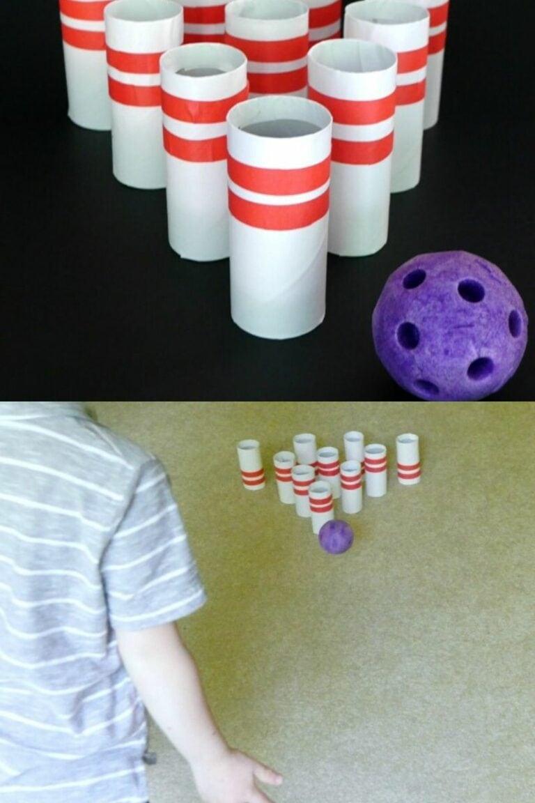 Cardboard Bowling Pins
