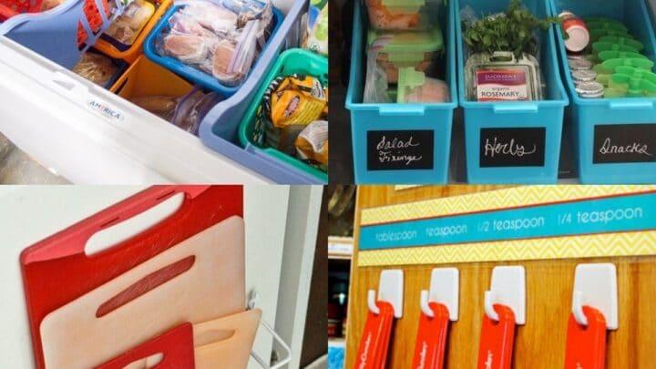 20 Dollar Store Storage Ideas