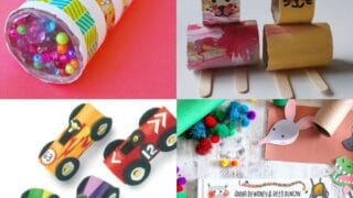 20 Paper Roll Crafts (Towel and Toilet)