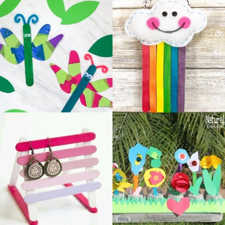20 Popsicle Stick Crafts Kids Will Love
