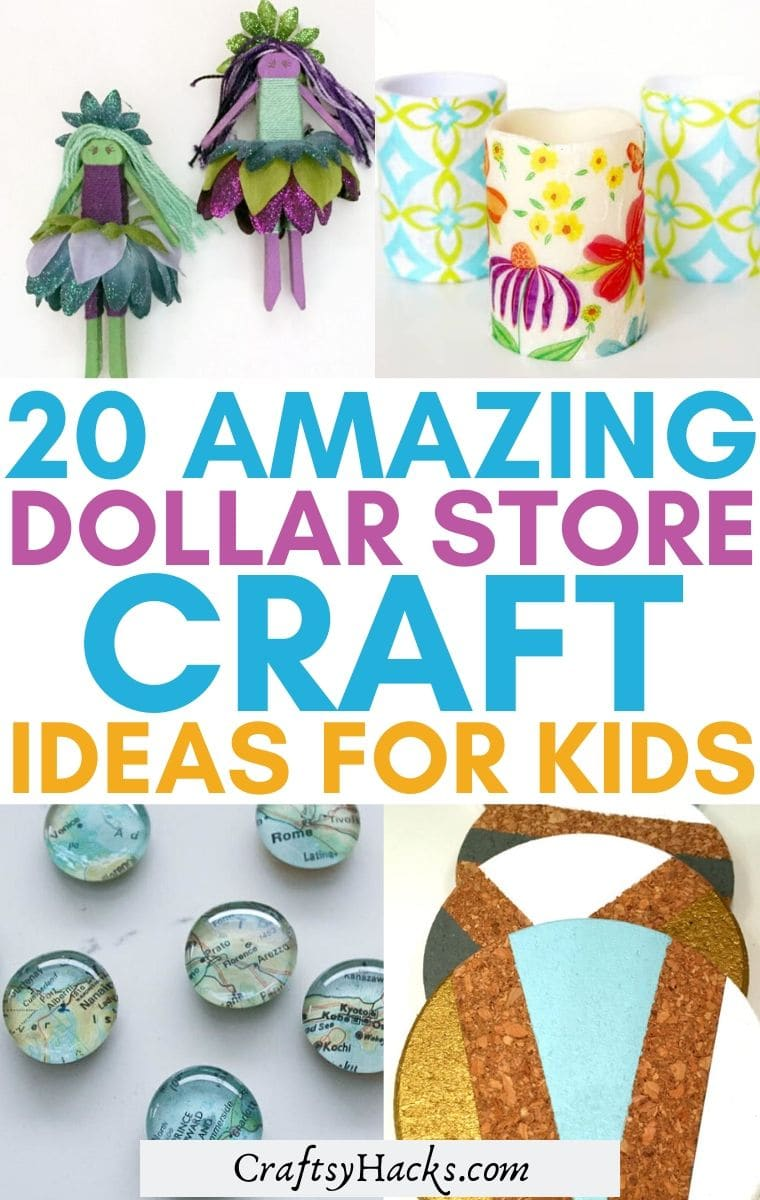 dollar tree crafts for kids