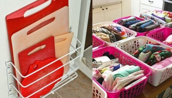 dollar store storage ideas