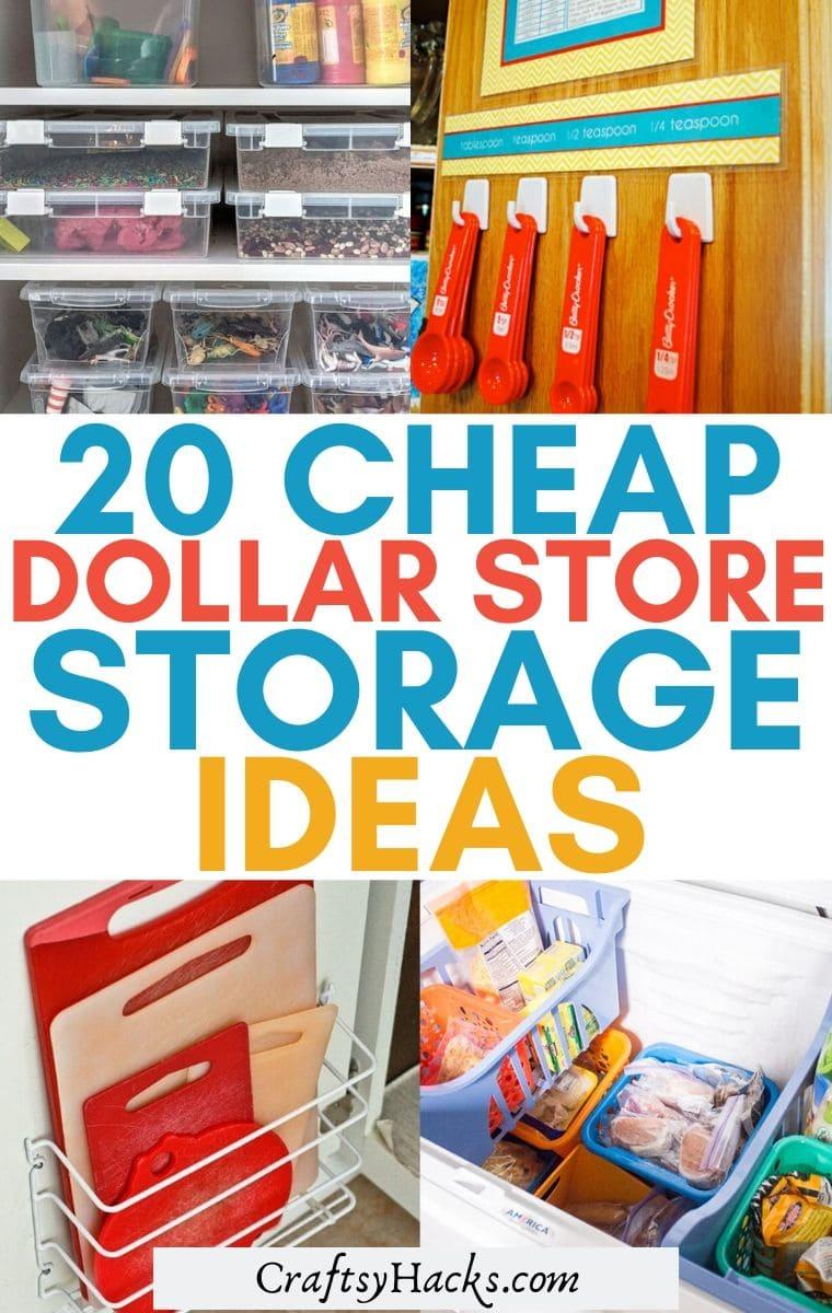 20 dollar store storage ideas