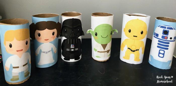 Star Wars Cardboard Figures