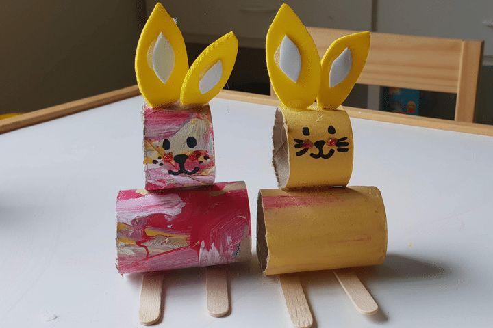Cardboard Bunny