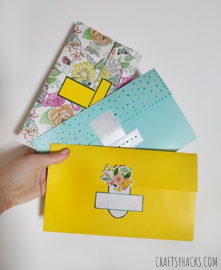 kids paper wallets