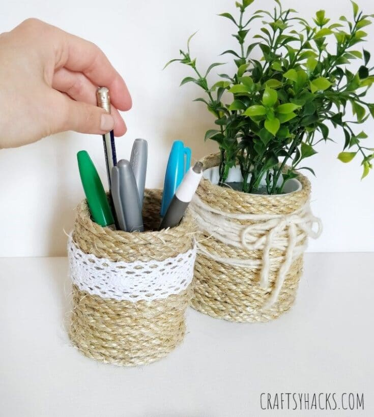 DIY rope organizers for your office