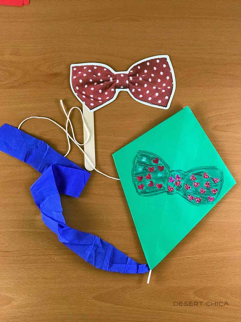 Paper Kites for kids to make