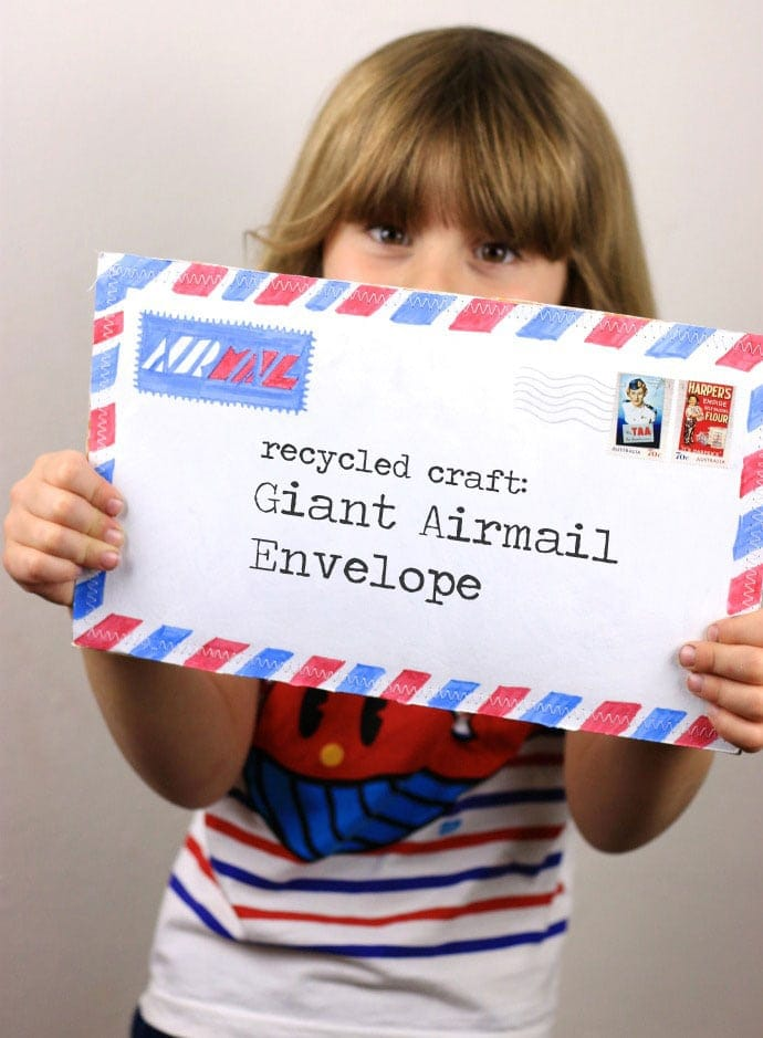 Giant Airmail Envelope