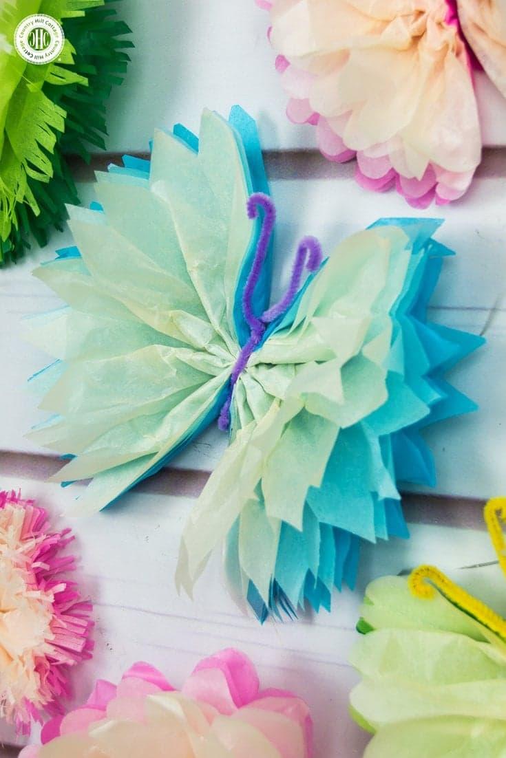 Tissue Butterflies