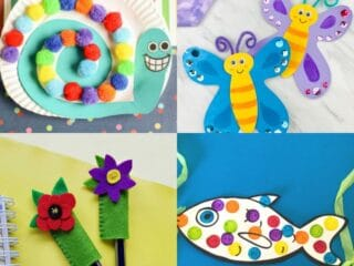20 Fun Crafts for Kids That Will Keep Them Busy