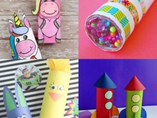 20 Toilet Paper Roll Crafts That Are Fun