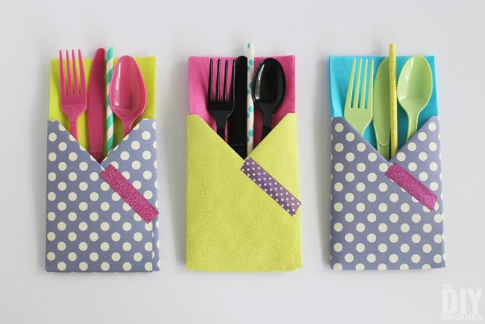 Paper Utensil Holders