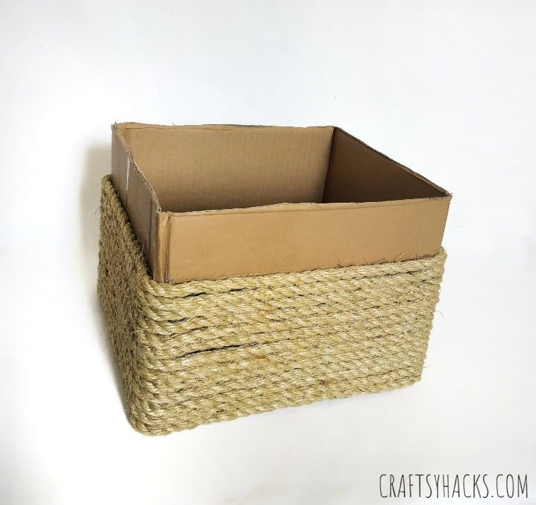 crafty rope storage box