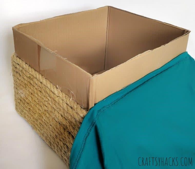 basket for linens