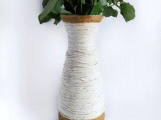 diy glass vase