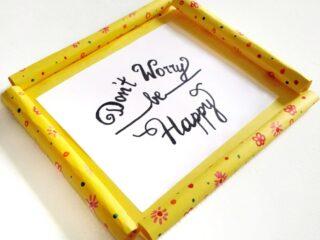 diy paper frames