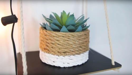 Miniature Rope Planter