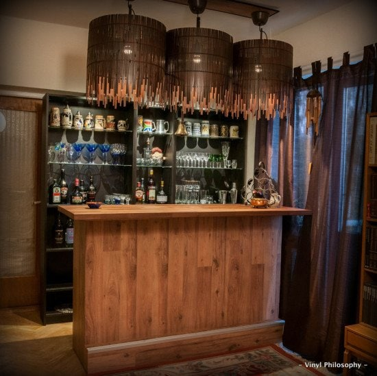 DIY Home Bar Hack