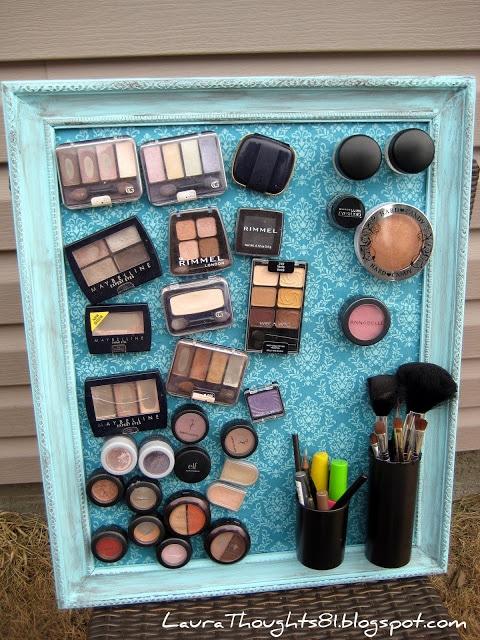 Clever Makeup Magnet Board