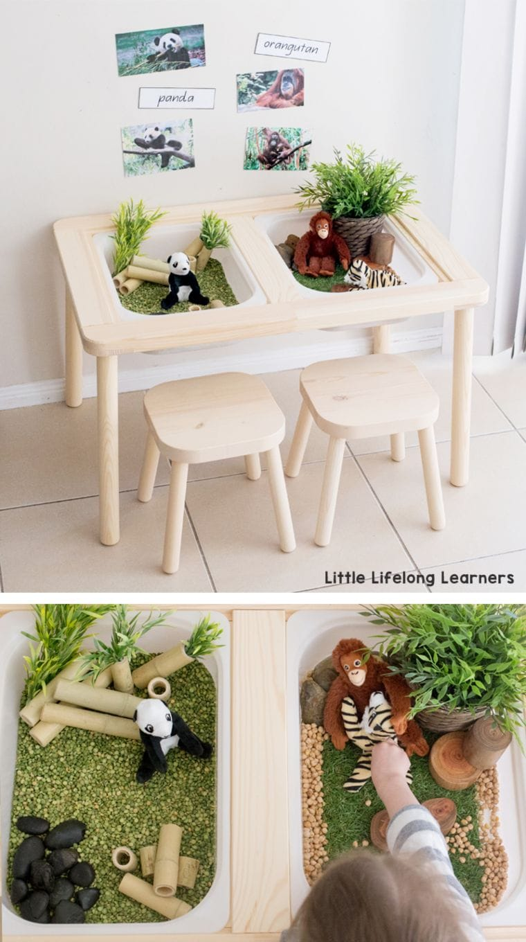 Kids Sensory Table