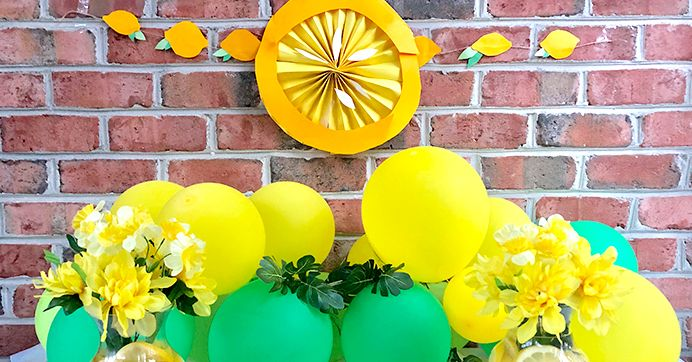 Lemon-Themed Party