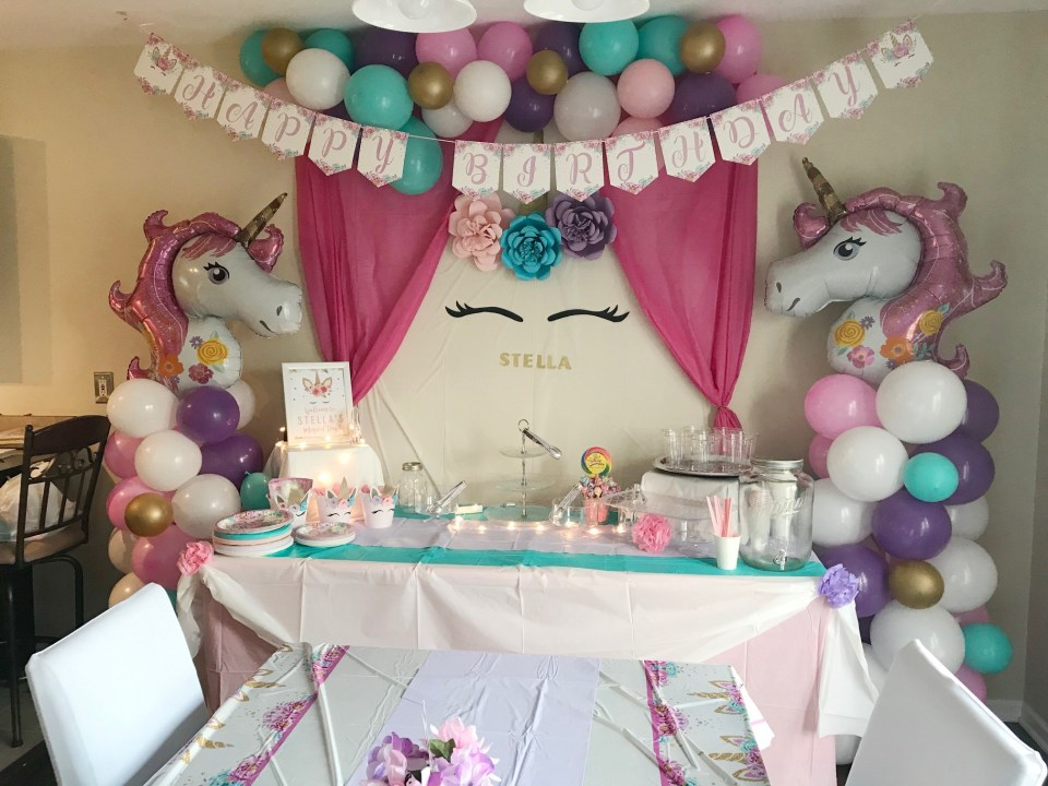 Unicorn-Themed Party Decor