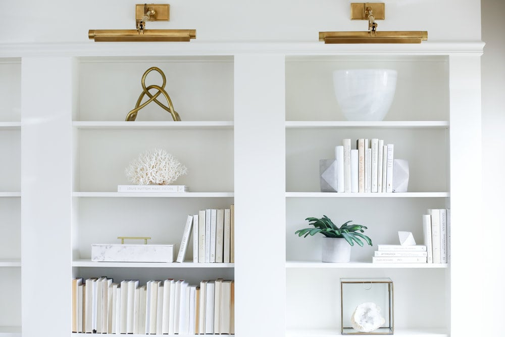 White Showcase Bookshelf