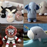 20 Easy DIY Sock Plushies