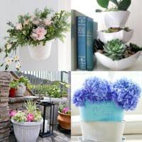 20 Genius Dollar Store Planter Ideas