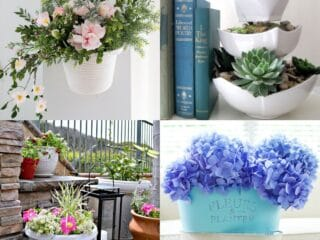 20 Genius Dollar Store Planter Ideas