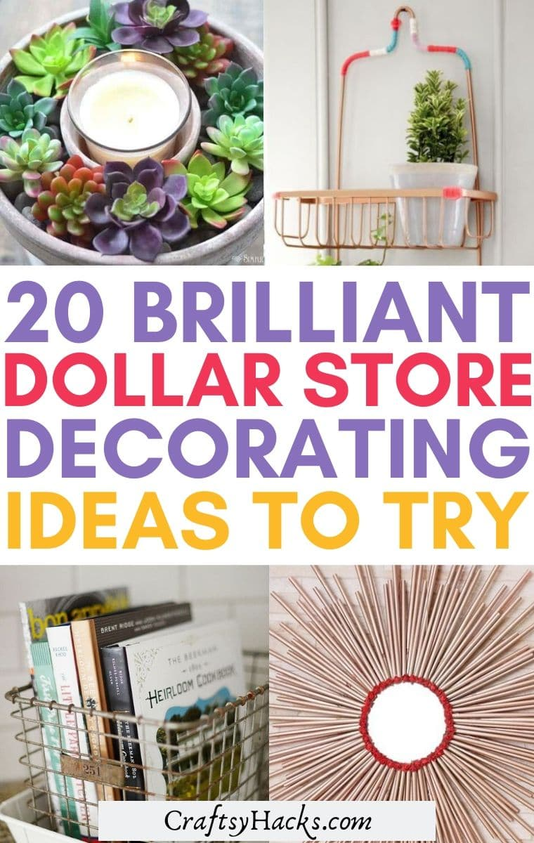dollar store decor ideas