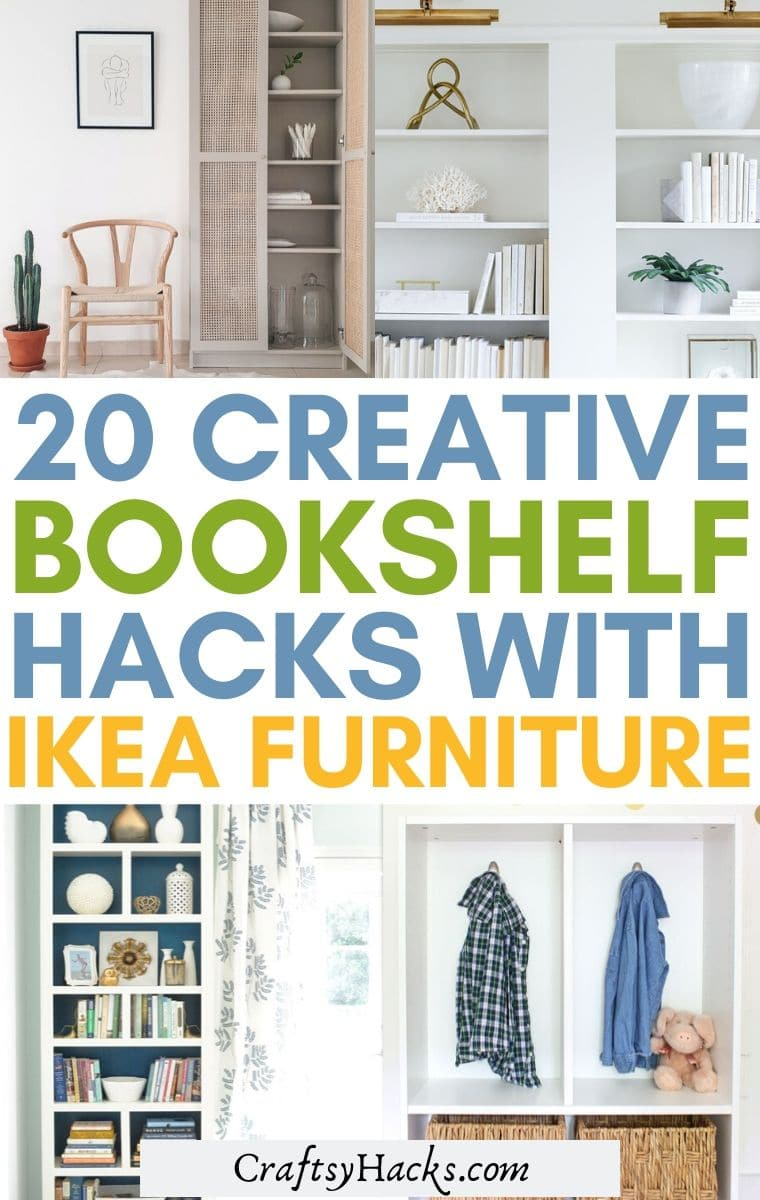 ikea bookshelf ideas