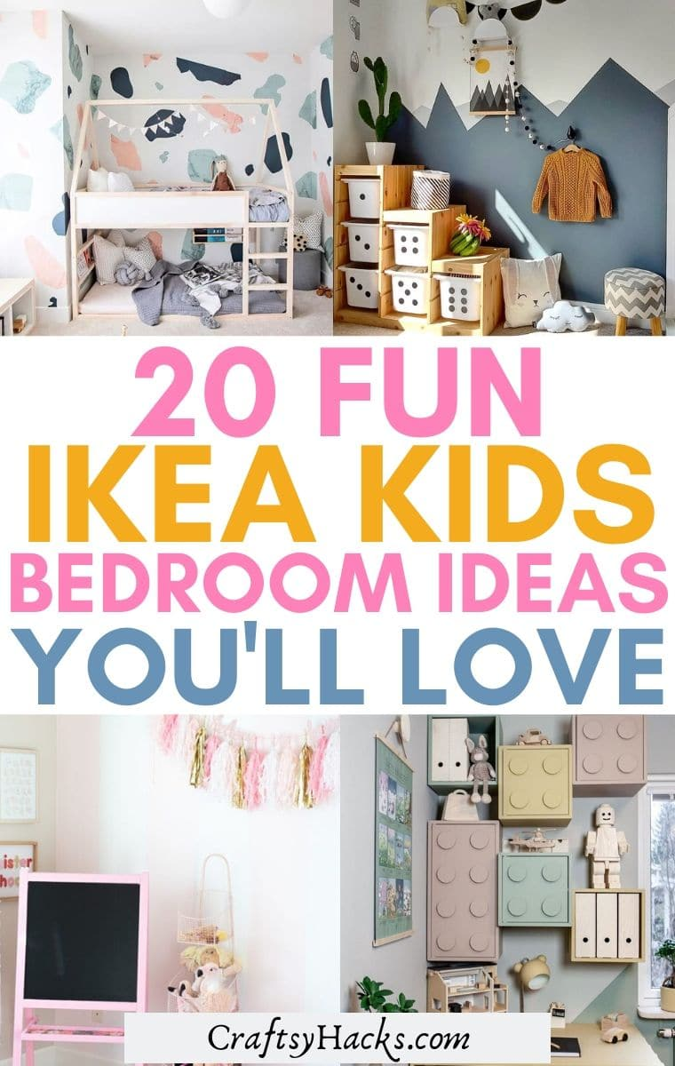 ikea kids bedroom hacks