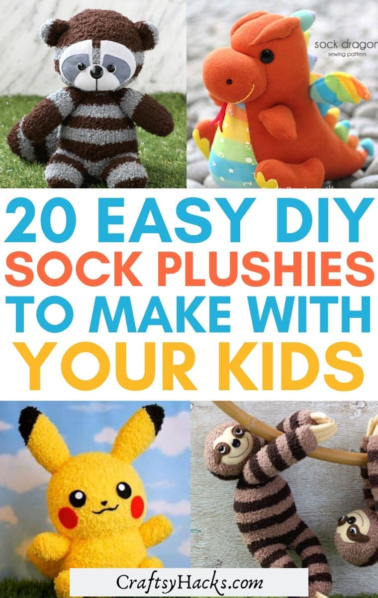 diy sock plushies